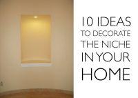 Large Wall Niche Decorating Ideas | wall niche | Niche ...