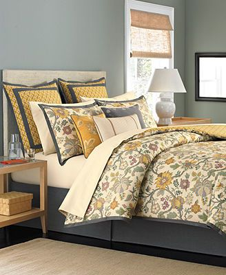Master bedroom Martha Stewart Collection Bedding Provence 6 Piece Queen Comforter Set Macys