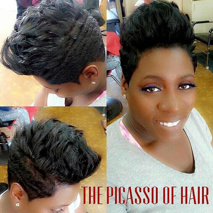 The Picasso of hair Chicago  Projects to Try  Pinterest  The ojays Hair and Chicago