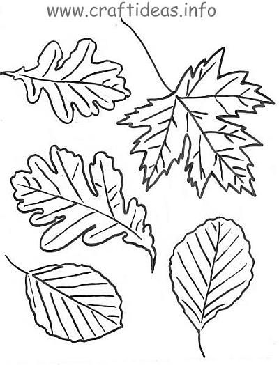 17+ best ideas about Autumn Leaves Craft on Pinterest