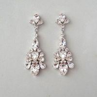 CAPRICE: Bridal Earrings
