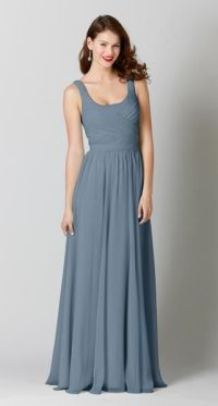 18 Slate Blue Bridesmaid Dresses Worth Obsessing Over ...