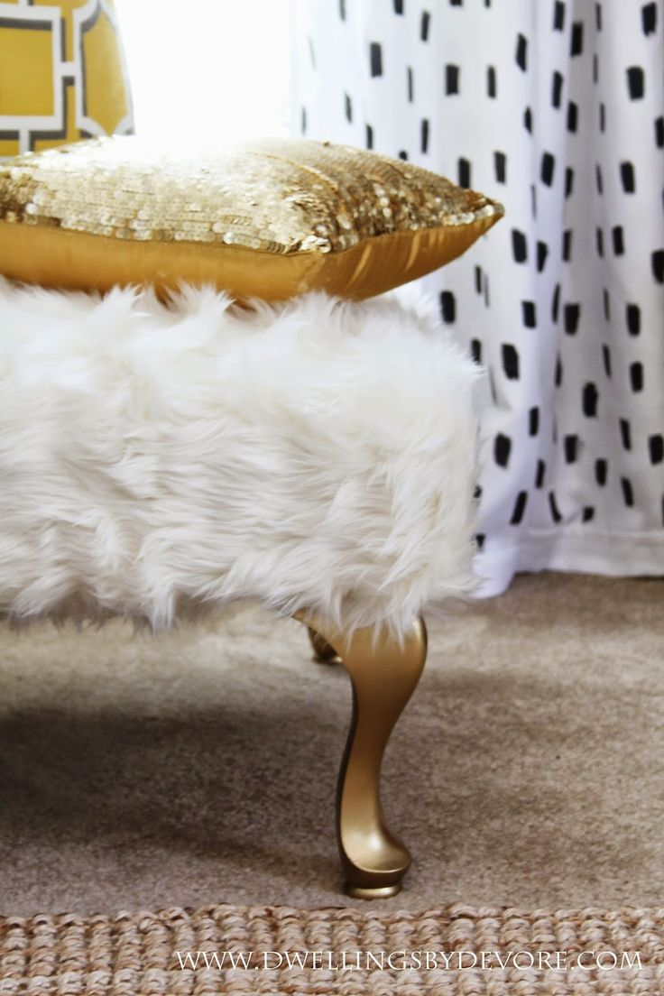 25 Best Ideas About Fur Decor On Pinterest Glam Bedroom