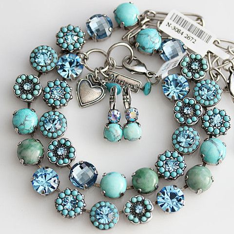 Mariana Jewelry Spirit Of Design Bliss Turquoise Blue