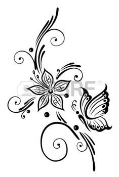 Best 25+ Tribal flower tattoos ideas on Pinterest