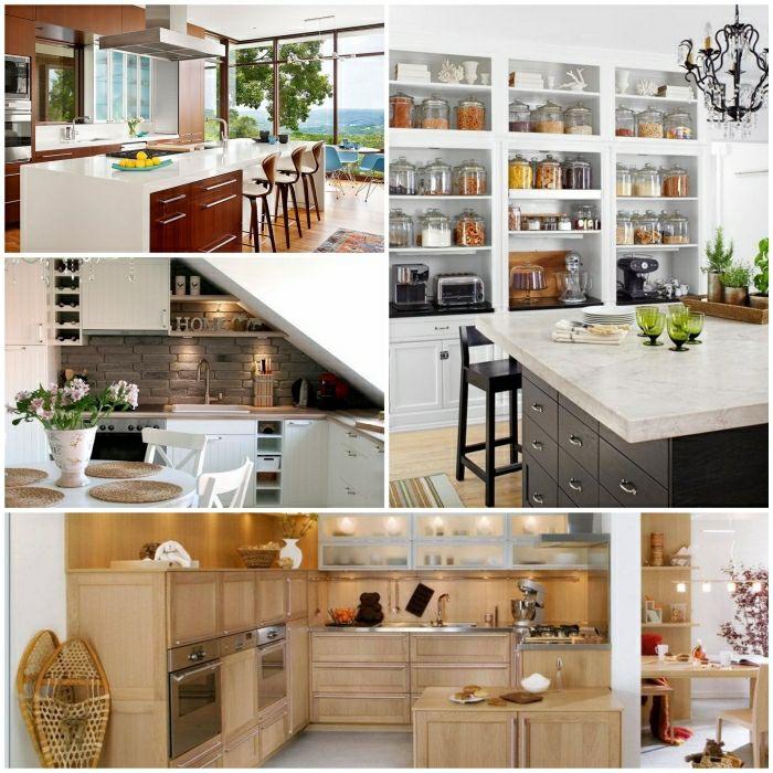 kleine kuche einrichten kuchenausstattung kucheneinrichtung - boisholz, Möbel