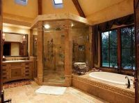 Fancy bathroom | Log Cabin Homes | Pinterest | Nice, In ...