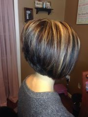 line stacked bob style