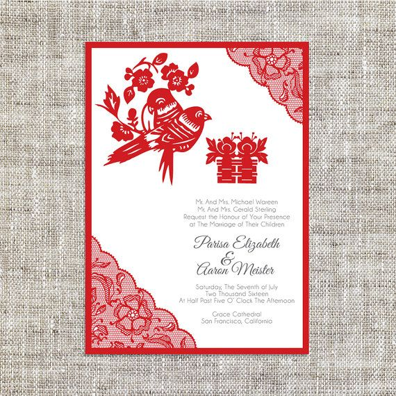 25 best ideas about Chinese wedding invitation on Pinterest  Chinese wedding invitation card