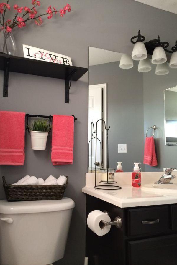 25+ best ideas about Coral bathroom decor on Pinterest