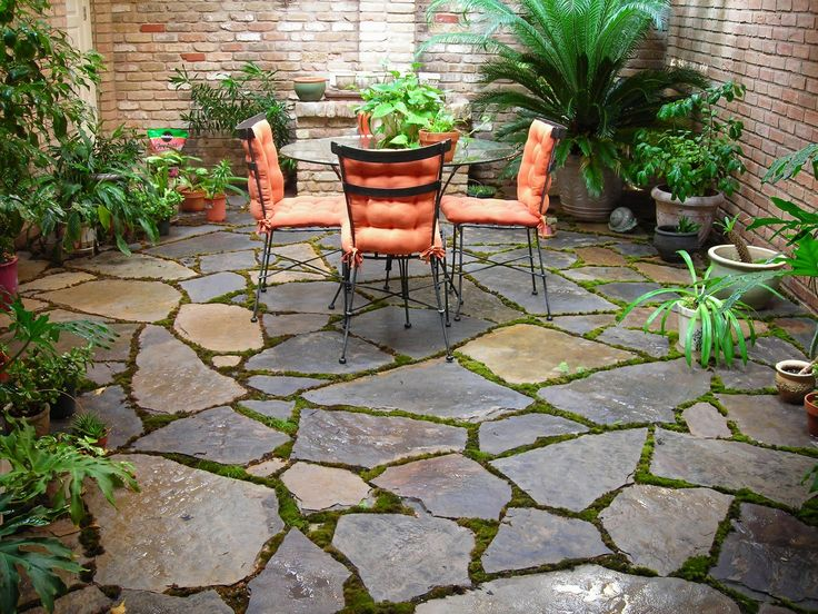 25 Best Ideas About Stone Patio Designs On Pinterest Patio