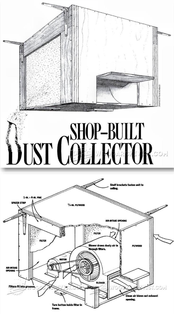 148 best images about workshop dust collection on