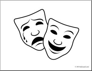 Best 25+ Comedy tragedy masks ideas on Pinterest