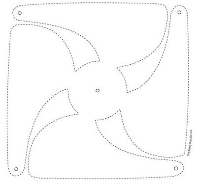 pinwheel printable. then cut out add a straight pin or