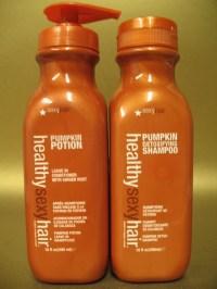 HEALTHY SEXY HAIR PUMPKIN Shampoo & POTION Conditioner 10 ...