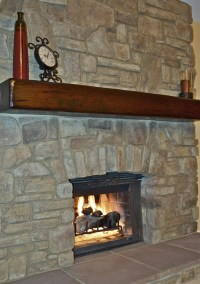 1000+ images about Rustic Wood Mantels on Pinterest   Dark ...