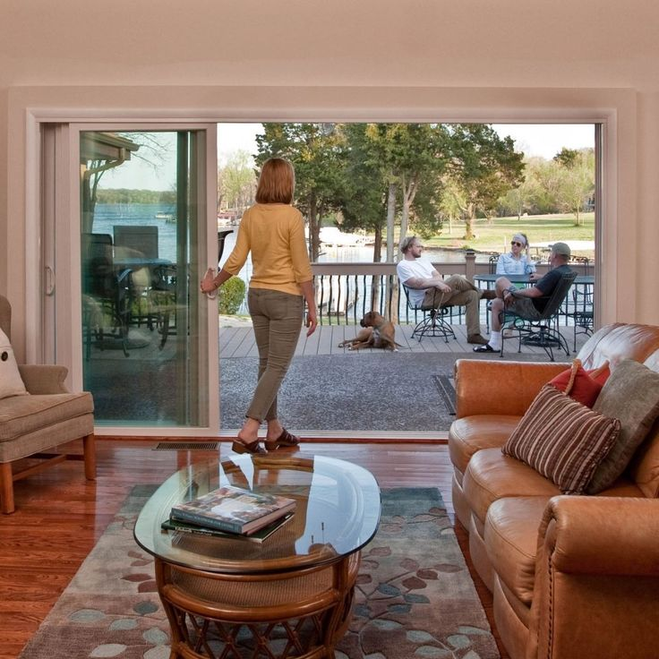 25+ best ideas about Sliding glass patio doors on