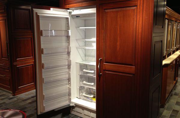 SubZero vs Miele Integrated Refrigerator Columns Which is