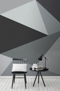 Best 25+ Geometric wall ideas only on Pinterest ...