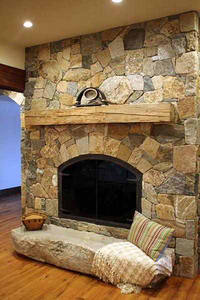 25+ best ideas about Stone veneer fireplace on Pinterest