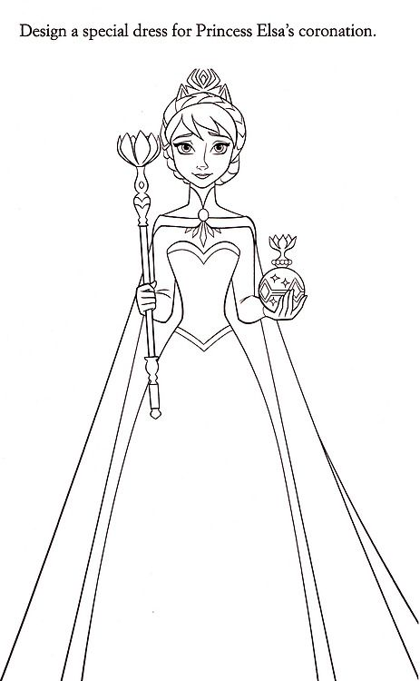1000+ images about Frozen colouring pages on Pinterest