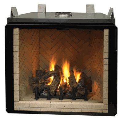 DDI Devonshire 42 Direct Vent Natural Gas Fireplace  DVF42NHD  Fireplaces  Pinterest