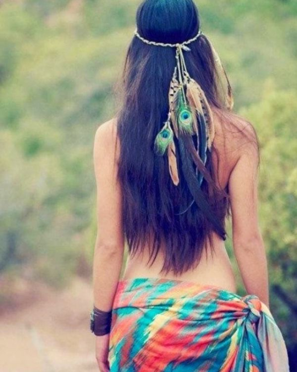 Cool Indian headpiece. Native American costume.. It's so pretty!