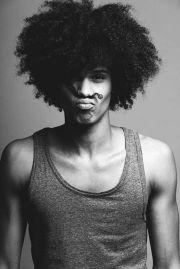 natural black men hair styles