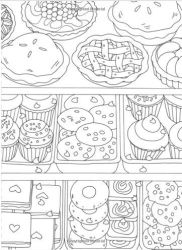 Food Coloring Pages For Adults Cachorro Quente