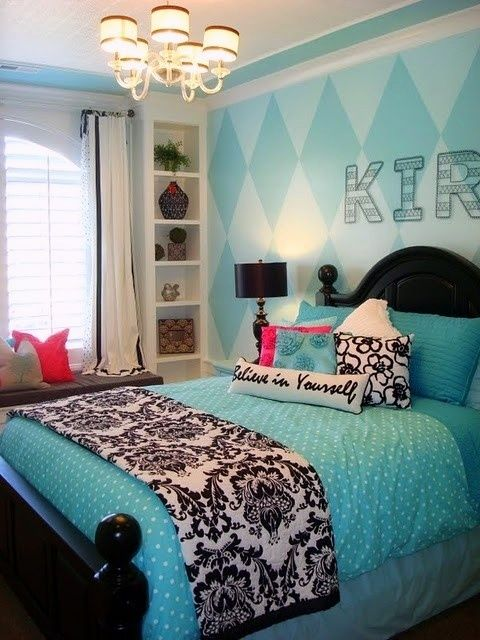Absolutely Gorgeous Turquoise Amp Black Room Decor You