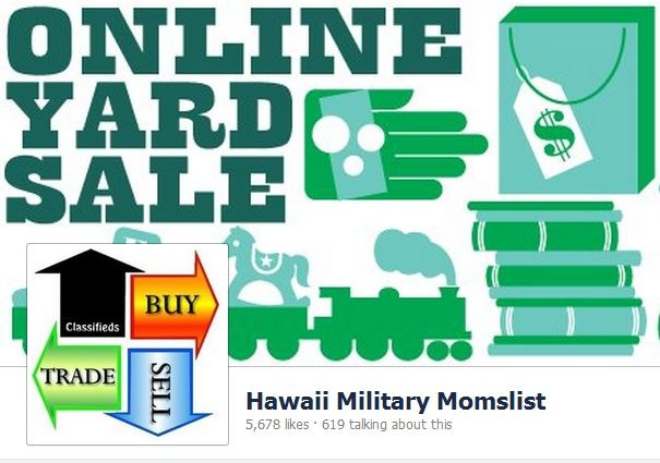 Hawaii Military Momslist Online Yard Sale Classifieds Buy Sell Trade  Hawaii  Pinterest
