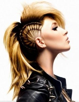 25 Best Ideas About Long Punk Hair On Pinterest Punk Rock Hair