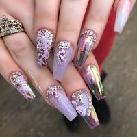 17 Best ideas about French Stiletto Nails on Pinterest ...