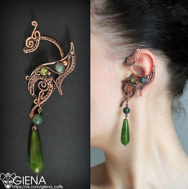 25+ best Dragon Ear Cuffs ideas on Pinterest