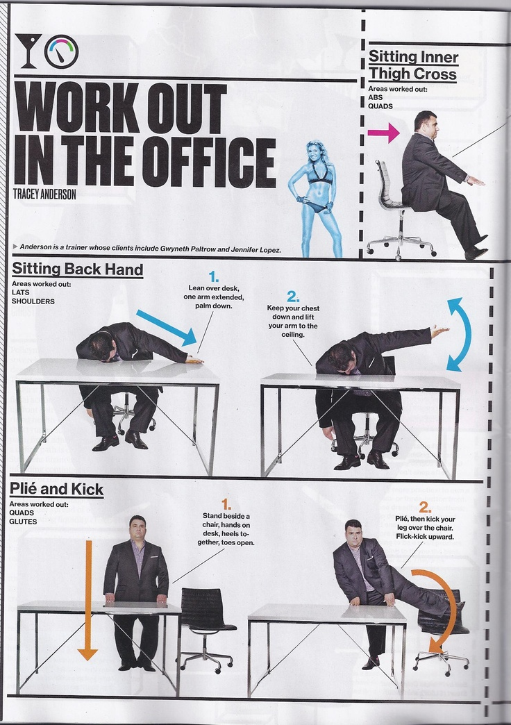 17 best images about Office Exercises  Stretches on