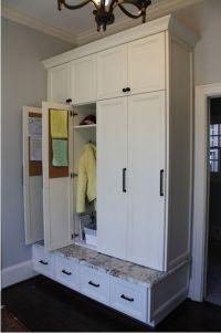 Best 20+ Mudroom Cabinets ideas on Pinterest | Mudroom ...