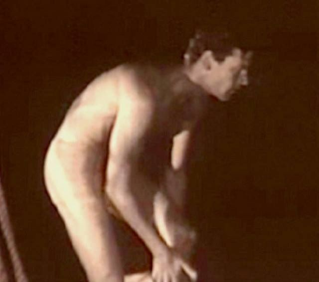 Joel McCray nude scene from film Bird Of Paradise 1932