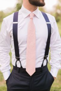 25+ best ideas about Groomsmen attire suspenders on ...
