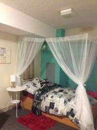 Best 25+ Dorm room canopy ideas on Pinterest | College ...