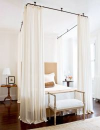 1000+ ideas about Curtains Around Bed on Pinterest ...