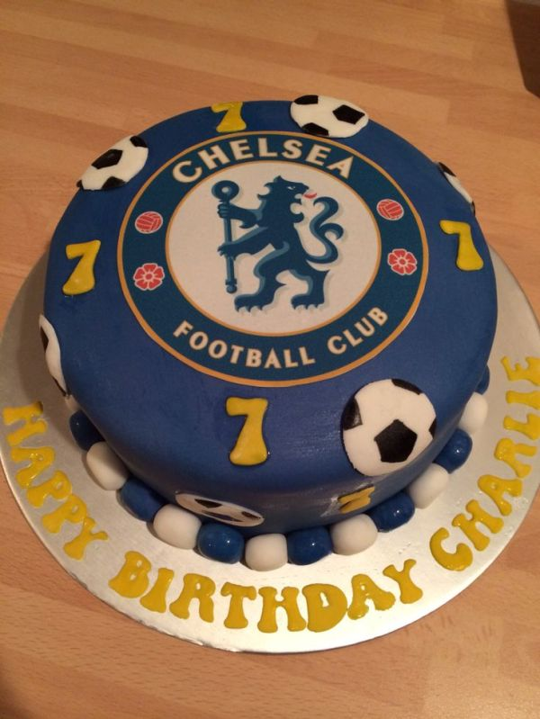 23 best images about football team cakes on Pinterest