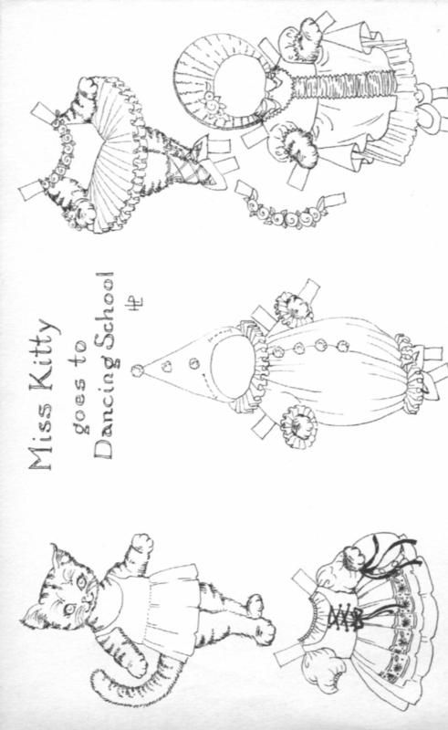 165 best images about Paper doll coloring pages on