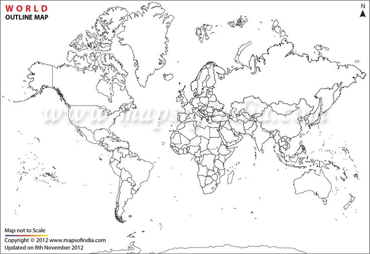 18 best images about WORLD MAP PRINTABLE COLORING PAGES on