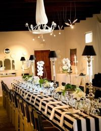 56 best images about Black And White Wedding Table ...