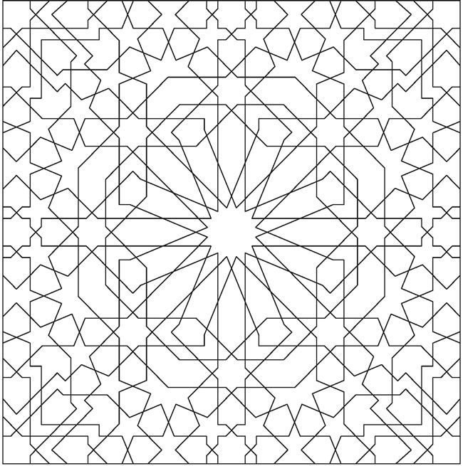 1149 best images about Geometric patterns on Pinterest