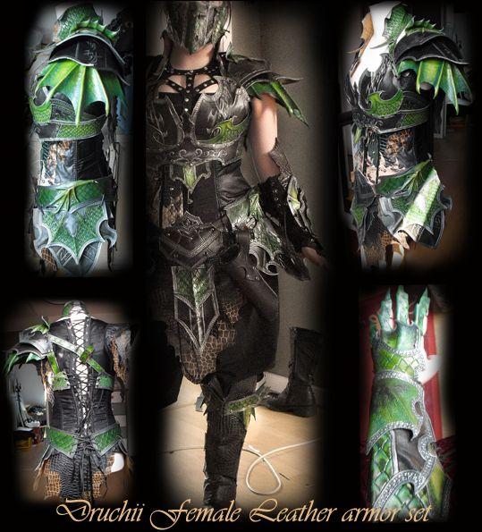 Female Armor Set By Deakath On DeviantART Really Like The