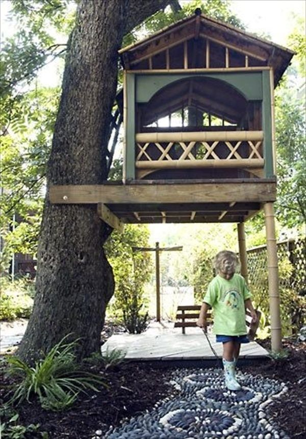 25 Best Ideas About Kid Tree Houses On Pinterest Tree House