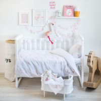 Flamingo Bedding - Baby Bedding Crib Bedding Set Nursery ...