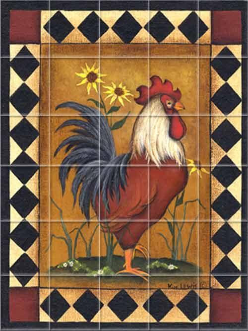 355 Best images about Crazy About My  Red  Chicken Kitchen on Pinterest  Cherry kitchen