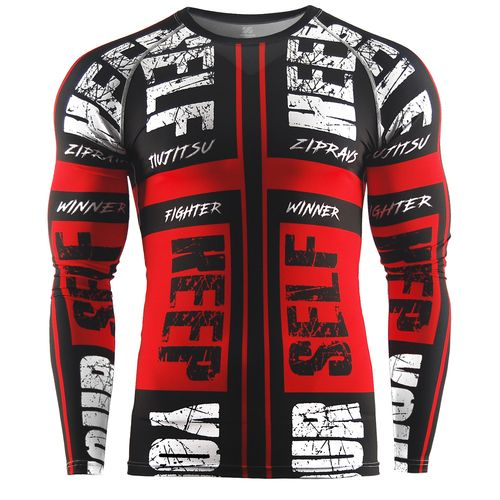 mma shirt men rash guard